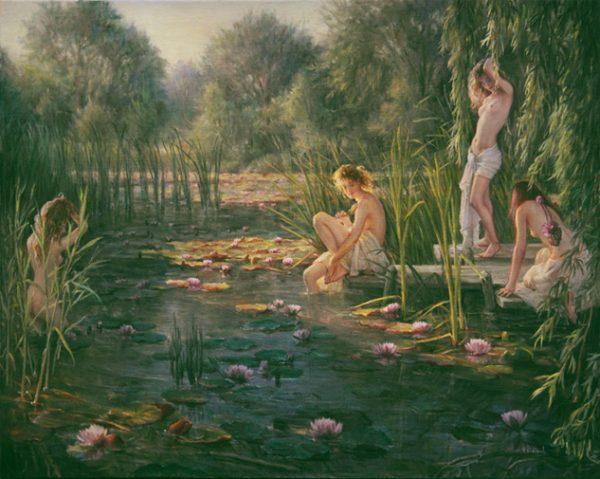 L'étang secret