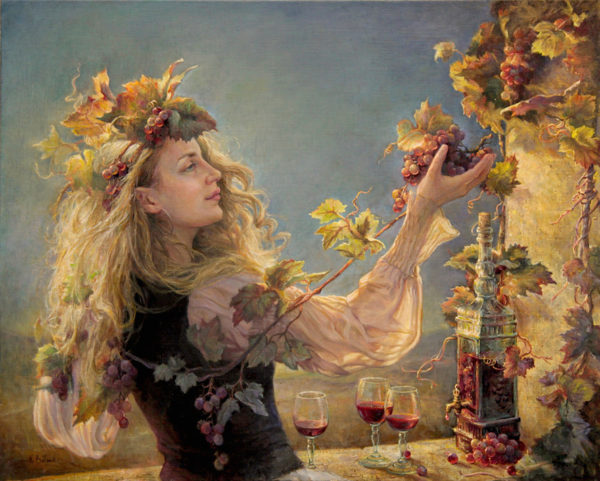 La danse du vin