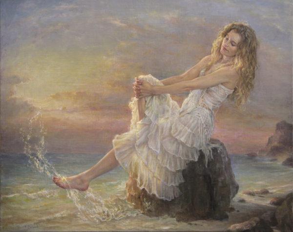 Rêverie au bord de l'eau
