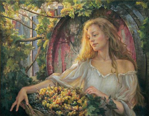 The Grape gatherer