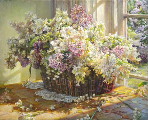 A Basket of spring perfumes