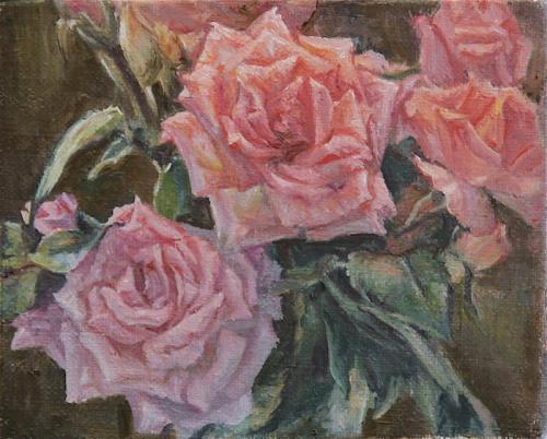 Étude de roses